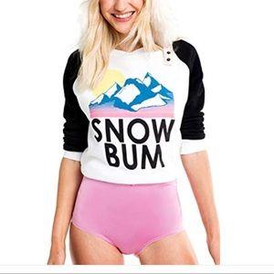 Snow bum seater